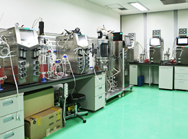 Cell culture rooms